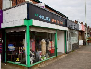 Front of the Hollies New to You Shop