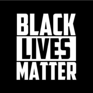 Text reads: black lives matter